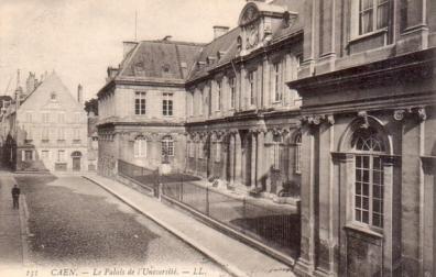 Université de Caen, Faculté des sciences avant la 2nd guerre mondiale.