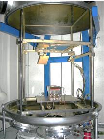 Instrumentation, Evaporateur Canon à électrons (LPC Caen)