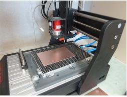 Instrumentation, Micro-fraiseuse PCB (LPC Caen)